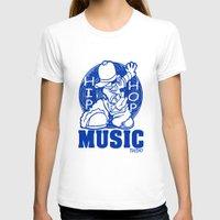 hip hop T-shirts featuring HIP HOP MUSIC  DESIGN... by T.H. DESIGNZZ