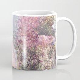 Wild Roses in Motion - Glitch Coffee Mug