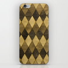 Wooden Diamonds iPhone & iPod Skin