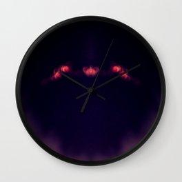 Blood Moon Shadow Wall Clock