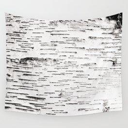 White Birch Wall Tapestry