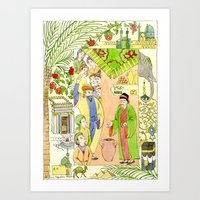 Arabian Nights-Ali Cogia Art Print
