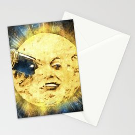 A Trip To The Moon Stationery Cards