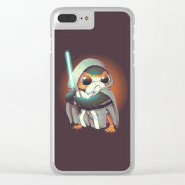 The Last Porg Clear iPhone Case