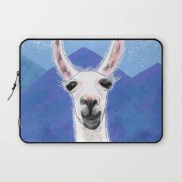 Llama Yama Smiling Laptop Sleeve