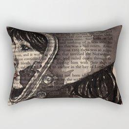 Astro girl Rectangular Pillow