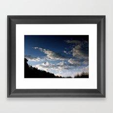 Imaginary sky Framed Art Print