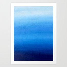 Blue 3 Art Print