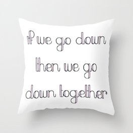 the chainsmokers Throw Pillow