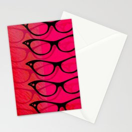 Glasses 50's Stationery Cards