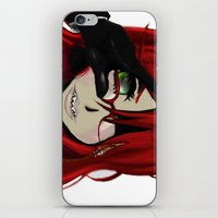 kuroshitsuji iPhone & iPod Skins featuring Grell by teddysart