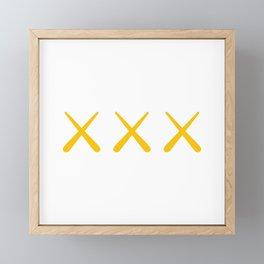 XXX Framed Mini Art Print