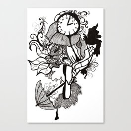 Lost track of time... Canvas Print