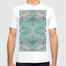 JUNGLE BOHO VIBES MEDIUM Mens Fitted Tee White