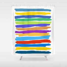 Edison #1 Shower Curtain