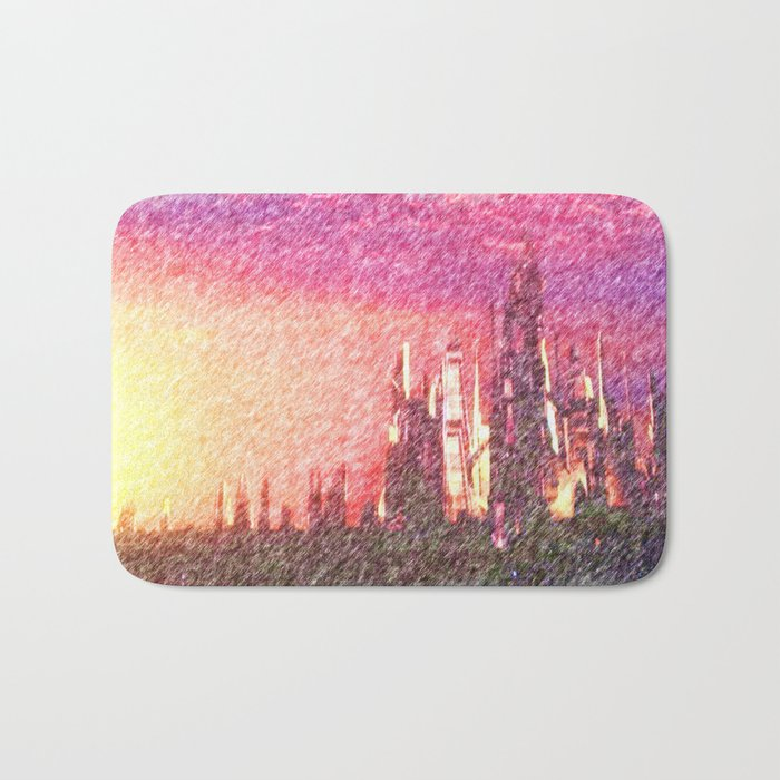 Alteran sunset Bath Mat