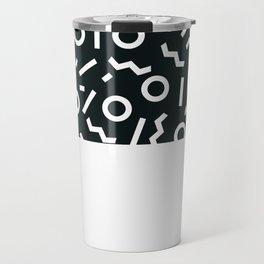 Memphis pattern 47 Travel Mug