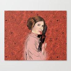 Princess Leia from StarWars Canvas Print