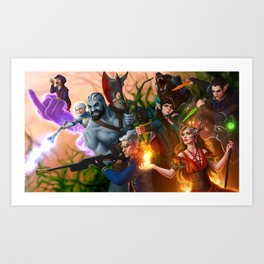 Ready for Battle Art Print