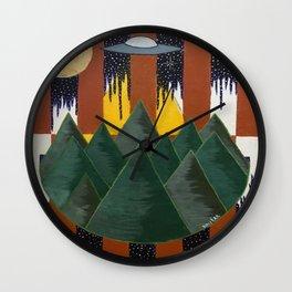 Light in the Sky Wall Clock