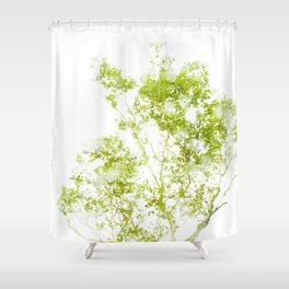 japanese tree Shower Curtain