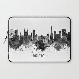 Bristol England skyline BW Laptop Sleeve