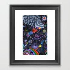 Node in the Noosphere Framed Art Print