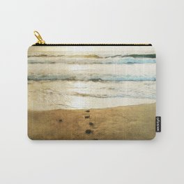Tracks Into the Sea Carry-All Pouch