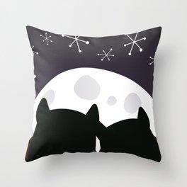 Moon Dreams Throw Pillow