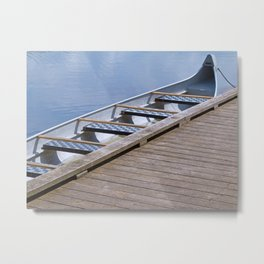 Jumbo Canoe Metal Print