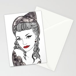 Noir Witch Stationery Cards