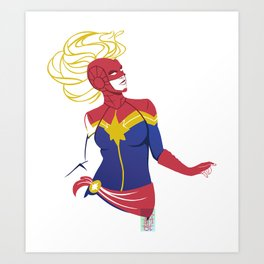Oh Captain my Captain Art Print
