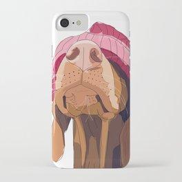 Hipster Vizsla iPhone Case