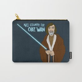 NO COUNTRY FOR OBI WAN Carry-All Pouch