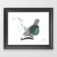 platypus Framed Art Print