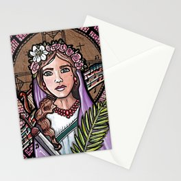 Cecilia of Rome Stationery Cards