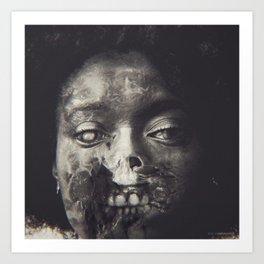 She's Now Silent Art Print