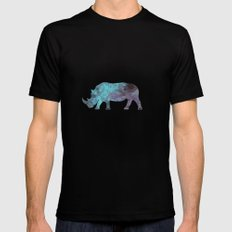 Rhino MEDIUM Black Mens Fitted Tee