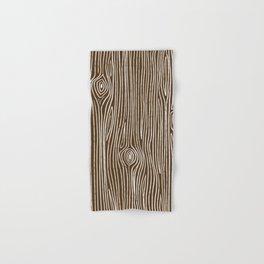 Tree Knots    Coniferous Brown Hand & Bath Towel