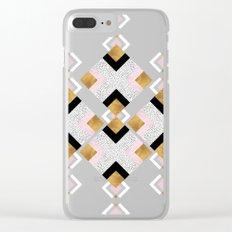 Rhombus geometric Clear iPhone Case
