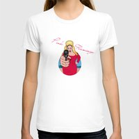 sexy T-shirts featuring PINK FLAMINGO  by mark ashkenazi