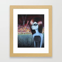 Say Goodnight Framed Art Print