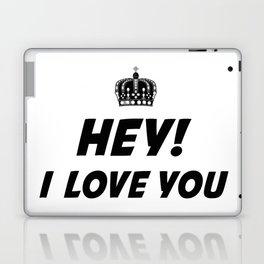 Hey, I Love You Laptop & iPad Skin