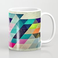 spires Mugs featuring Cyrvynne xyx by Spires