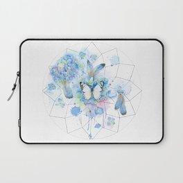 Dreamcatcher No. 1 - Butterfly Illustration Laptop Sleeve