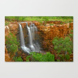 The Grotto is flowing Canvas Print