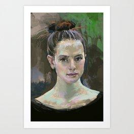 Daisy 2 Art Print