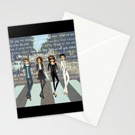 Beatlemania Stationery Cards