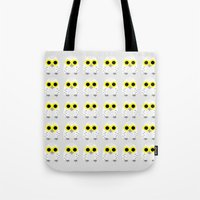 hedwig Tote Bags featuring Hedwig by Jessie Upward