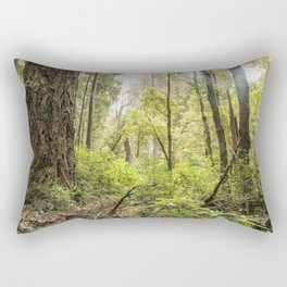 Schrader Old Growth Forest Rectangular Pillow